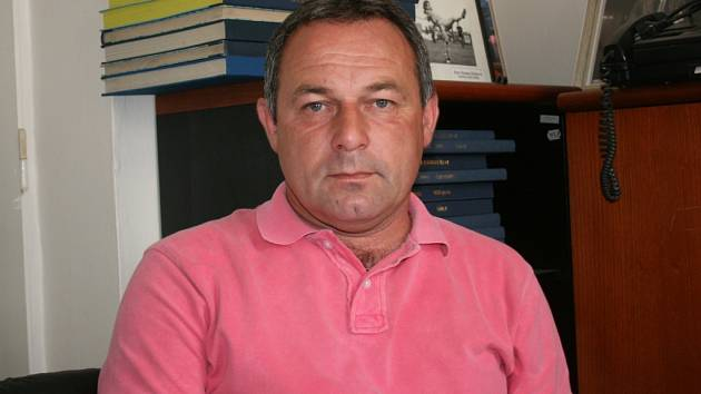 Trenér sparťanského dorostu Milan Pechanec