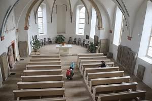 Kostel svatého Havla v Havelském parku v Mladé Boleslavi.