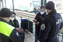 Pondělní policejní kontroly v Mladé Boleslavi.