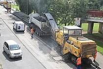 Opravy silnic - Ilustrační foto