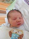 Dominik Volf se narodil 20. února, vážil 3,96 kg a měřil 51 cm. S maminkou Michaelou a tatínkem Jiřím bude bydlet v Mladé Boleslavi.