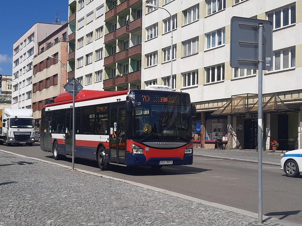 Autobusy MHD v Mladé Boleslavi