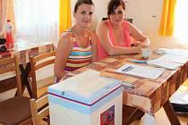 Dodatečné komunální volby v Neveklovicích. Volební komise byla pětičlenná