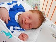 Pepíček Kohout se narodil 30. října Mamince Michaele a tatínkovi Josefovi z Pečic. Vážil 3,62 kg a měřil 52 cm.