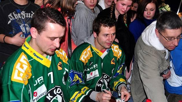 Autogramiáda BK Mladá Boleslav v multikině Cinestar