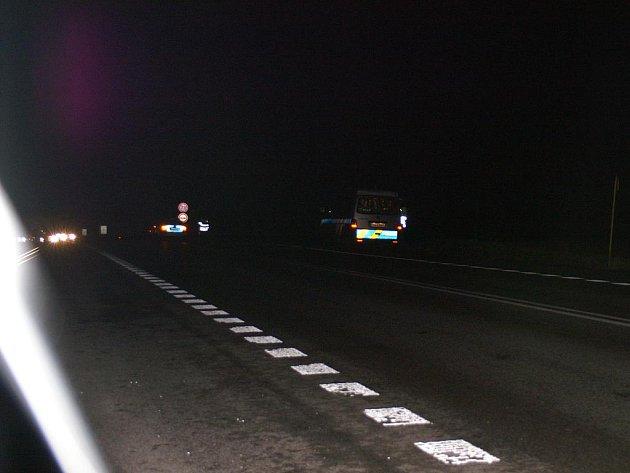 Dopravní nehoda na křižovatce u Čisté a Bítouchova