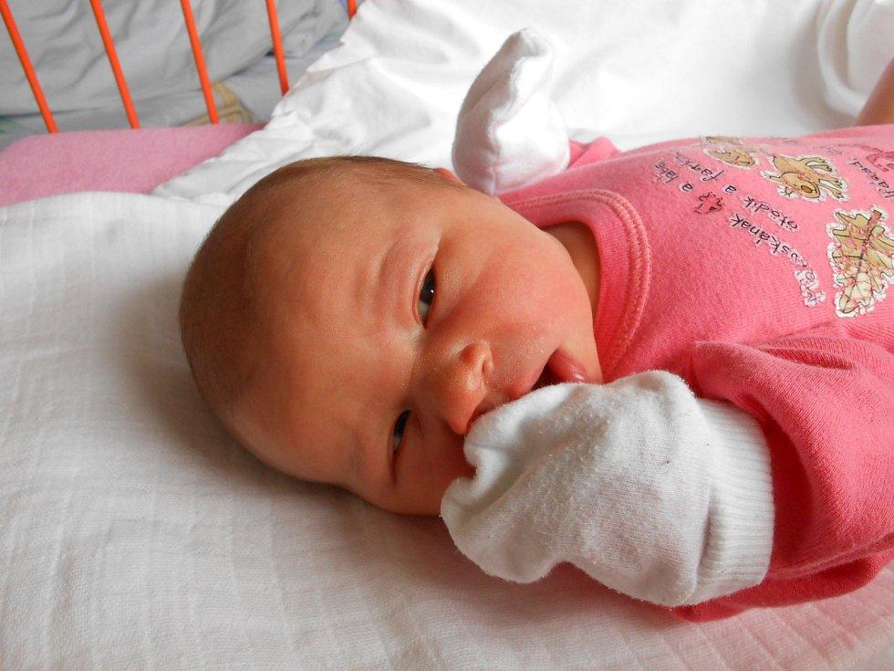 Adriana Filipová přišla na svět 22. února s mírami 3,69 kg a 49 cm. S maminkou Kateřinou a tatínkem Jiřím bude bydlet v Mnichově Hradišti.
