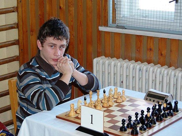 Vojtěch Plát se stal vítězem šachového turnaje v Dobrovici