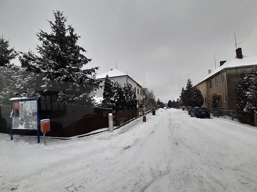 Boleslavsko pod sněhem