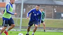 Marek Suchý na tréninku FK Mladá Boleslav