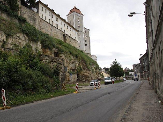 Ptácká ulice před rekonstrukcí 2012