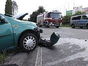 Vážná nehoda se stala nedaleko Kosmonos
