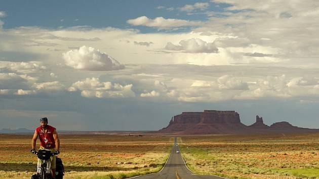 Žďána v Monument Valley.