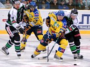 Hokejová baráž mezi Mladou Boleslaví a Ústí nad Labem