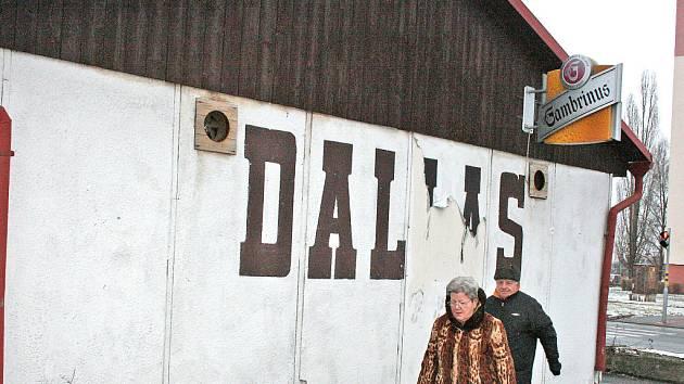 Kdysi oblíbená občerstvovna Dallas.