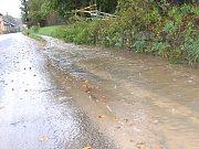Povodně na Bakovsku - Podhradí