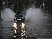 Povodně na Bakovsku - Bakov směr Malá Bělá