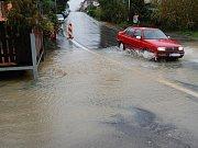 Povodně na Bakovsku - Restaurace Na Klokočce