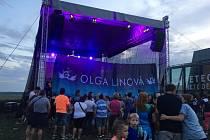 Olga Lounová v Mladé Boleslavi.