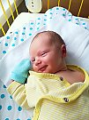 Oliver Bican se narodil 5. září, vážil 3,28 kg a měřil 50 cm. S maminkou Denisou a tatínkem Petrem bude bydlet v Semčicích.