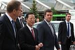 Čínský místopředseda vlády navštívil společnost Škoda Auto.