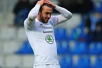 Boleslavského Tomáše Ladru neproměněná šance v utkání s Karvinou hodně mrzela. Jeho tým v nastavení inkasoval jediný gól zápasu.