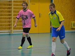 Futsal, 2. liga západ, Malibu Mladá Boleslav - Boca Chotěboř.