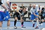 Florbalisté Mladé Boleslavi vyhráli poslední zápas v Otrokovicích 7:3.