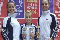 Dobrovické mažoretky vezou medaile z mistrovství Evropy