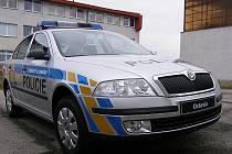 Policejní vůz - ilustrační foto