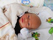 Václav Hejral se narodil 17. října, vážil 3,84 kg a měřil 50 cm. Maminka Barbora a tatínek Václav si ho odvezou domů do Skokova.