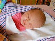Kristýnka Demešová se narodila 18. října, vážila 3 kg a měřila 48 cm. Maminka Veronika a tatínek Jiří si ji odvezou domů do Kostelního Hlavna.