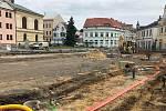 Pokračující revitalizace Masarykova náměstí v Mnichově Hradišti