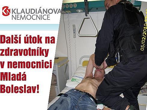 Další útok na zdravotníky mladoboleslavské nemocnice