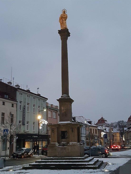 Staroměstské náměstí v Mladé Boleslavi.