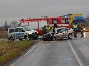 Vážná dopravní nehoda u Bakova nad Jizerou.