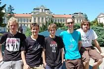 Studentská kapela The Plantážníci.