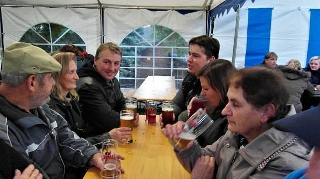 Už sedmý ročník Oučóbr festivalu piva se uskutečnil o víkendu v Ouči na Mnichovohradišťsku