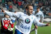 Radim Holub by rád jásal ze vstřeleného gólu i v Kladně.