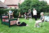 ALFONS, jedenáctka výtvarných umělců z Hustopečí, kteří svá díla představují v Benátkách.
