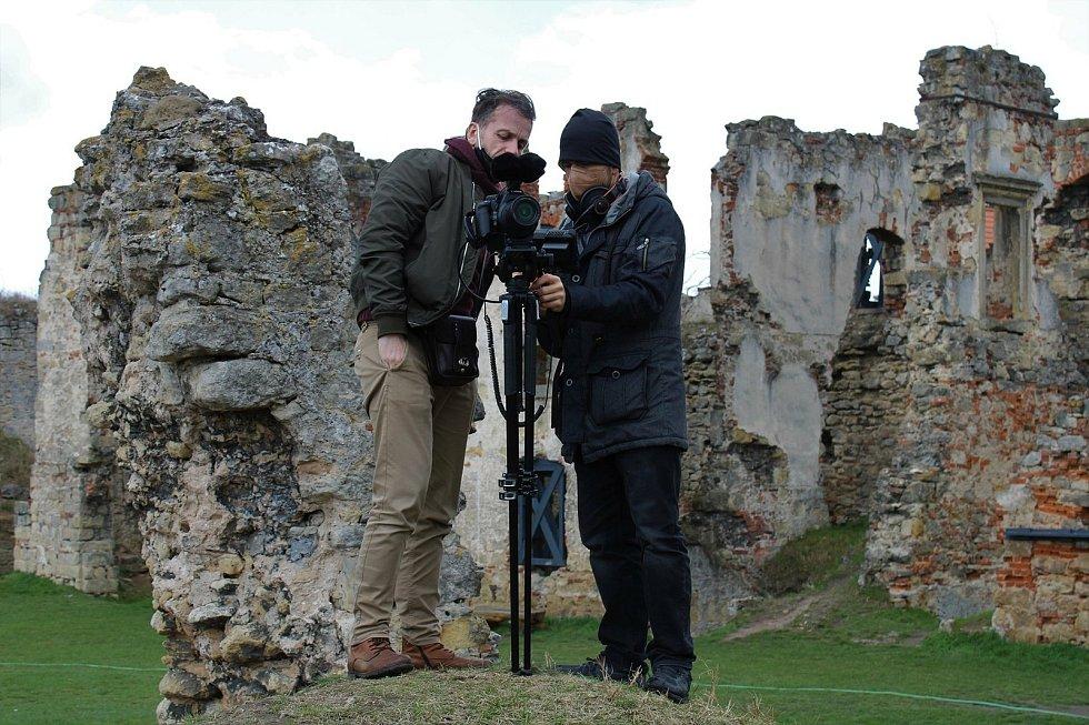 Natáčení předcházela výprava za nejvhodnějšími lokacemi
