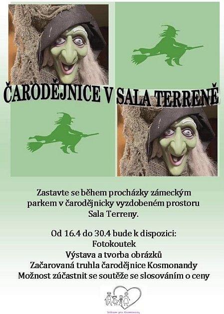 Plakát kakci Čarodějnice vSala Terreně