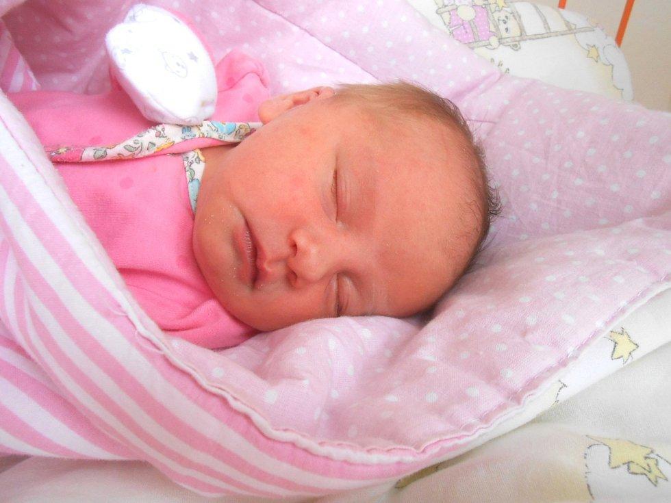 DAGMAR Jirčíková se narodila 7. listopadu, vážila 3,35 kg a měřila 48 cm. S maminkou Ivetou a tatínkem Milanem bude bydlet v Mladé Boleslavi, kde už se na ni těší sourozenci Filípek a Emička.