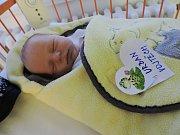 Vojtěch Urban se narodil 14. prosince, vážil 3,42 kg a měřil 48 cm. S maminkou Lenkou a tatínkem Vojtěchem bude bydlet v Kochánkách, kde už se na něho těší sestřička Elenka.