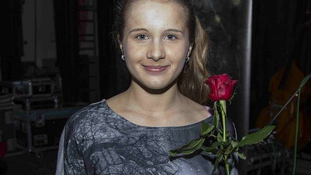 FIORENZA AMERIGHI, která v anketě Boleslavský Otík získala titul Talent do 18 let.