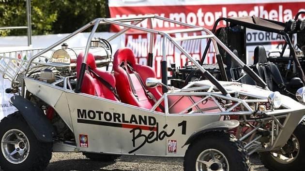Motorland v Bělé pod Bezdězem