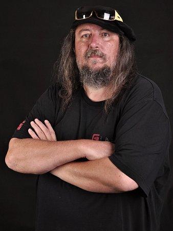 Frontman kapely EX 05Milan Frumar.