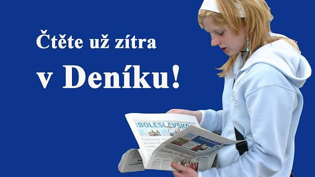 Zítra v Boleslavském deníku