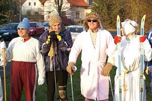 Z Lhotic do Bosně jeli lyžníci přes půl hodiny
