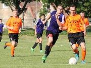 Fotbal, okresní přebor: Chotětov - Kněžmost.